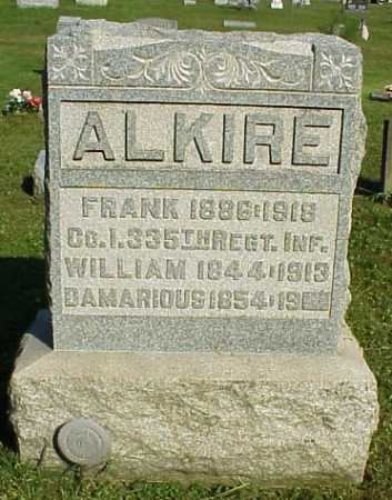 ALKIRE, FRANK - Meigs County, Ohio | FRANK ALKIRE - Ohio Gravestone Photos