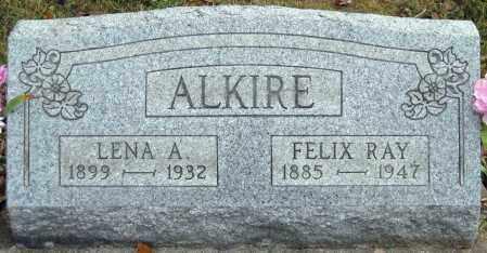 ALKIRE, FELIX RAY - Meigs County, Ohio | FELIX RAY ALKIRE - Ohio Gravestone Photos