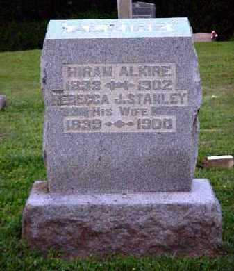 STANLEY ALKIRE, REBECCA J. - Meigs County, Ohio | REBECCA J. STANLEY ALKIRE - Ohio Gravestone Photos