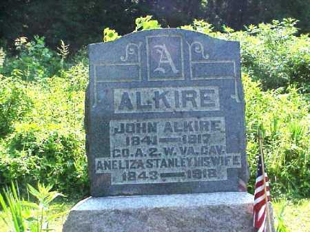 ALKIRE, JOHN - Meigs County, Ohio | JOHN ALKIRE - Ohio Gravestone Photos