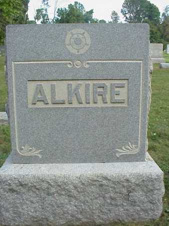 ALKIRE, MONUMENT - Meigs County, Ohio | MONUMENT ALKIRE - Ohio Gravestone Photos