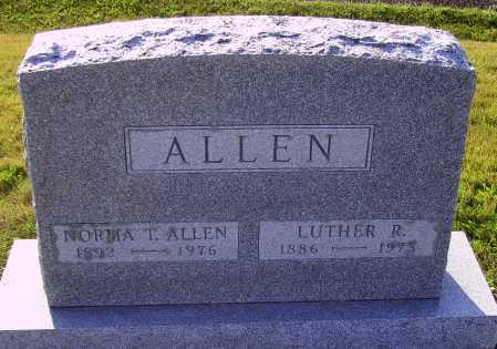 ALLEN, LUTHER R. - Meigs County, Ohio | LUTHER R. ALLEN - Ohio Gravestone Photos