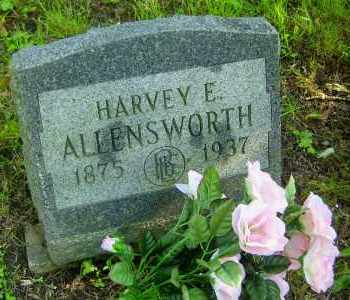 ALLENSWORTH, HARVEY E - Meigs County, Ohio | HARVEY E ALLENSWORTH - Ohio Gravestone Photos