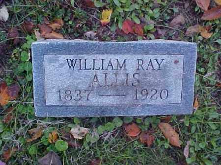 ALLIS, WILLIAM RAY - Meigs County, Ohio | WILLIAM RAY ALLIS - Ohio Gravestone Photos