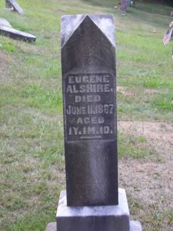 ALSHIRE, EUGENE - Meigs County, Ohio | EUGENE ALSHIRE - Ohio Gravestone Photos