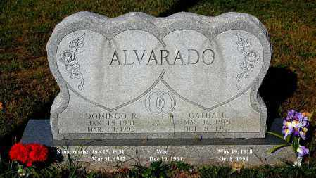 ALVARADO, DOMINGO R - Meigs County, Ohio | DOMINGO R ALVARADO - Ohio Gravestone Photos