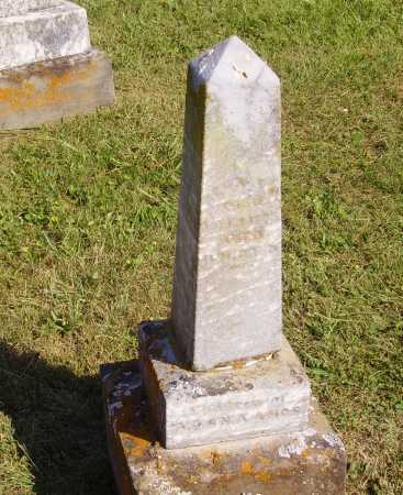 AMOS, INFANT - Meigs County, Ohio | INFANT AMOS - Ohio Gravestone Photos