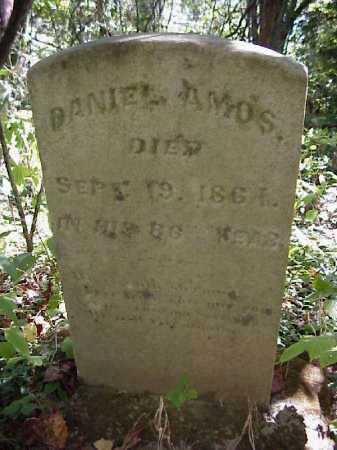 AMOS, DANIEL - Meigs County, Ohio   DANIEL AMOS - Ohio Gravestone Photos