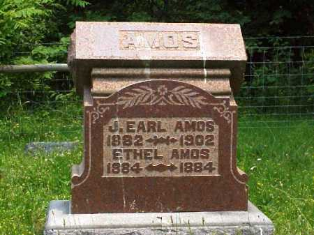 AMOS, J. EARL - Meigs County, Ohio | J. EARL AMOS - Ohio Gravestone Photos