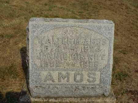 AMOS, JENNIE - Meigs County, Ohio | JENNIE AMOS - Ohio Gravestone Photos