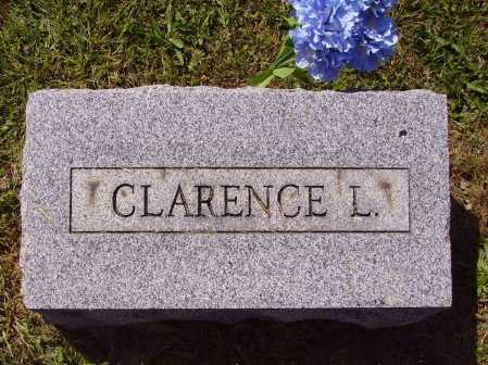 ANDERSON, CLARENCE LEROY - FOOTSTONE - Meigs County, Ohio | CLARENCE LEROY - FOOTSTONE ANDERSON - Ohio Gravestone Photos