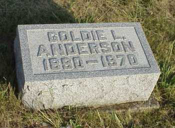 ANDERSON, GOLDIE L. - Meigs County, Ohio | GOLDIE L. ANDERSON - Ohio Gravestone Photos
