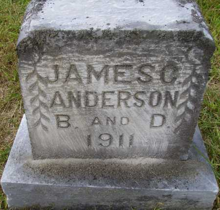 ANDERSON, JAMES C. - Meigs County, Ohio | JAMES C. ANDERSON - Ohio Gravestone Photos