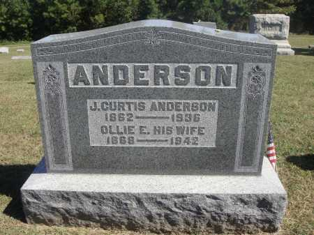 ANDERSON, JAMES CURTIS - Meigs County, Ohio | JAMES CURTIS ANDERSON - Ohio Gravestone Photos