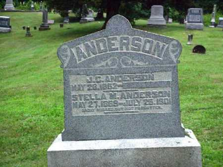 ANDERSON, STELLA M. - Meigs County, Ohio | STELLA M. ANDERSON - Ohio Gravestone Photos