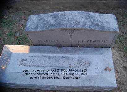 ANDERSON, ANTHONY - Meigs County, Ohio | ANTHONY ANDERSON - Ohio Gravestone Photos