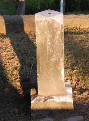 ANDERSON, UNREADABLE - Meigs County, Ohio | UNREADABLE ANDERSON - Ohio Gravestone Photos