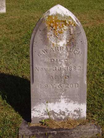 ARBAUGH, G. W. - Meigs County, Ohio | G. W. ARBAUGH - Ohio Gravestone Photos