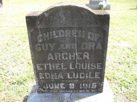 ARCHER, EDNA LUCILE - Meigs County, Ohio | EDNA LUCILE ARCHER - Ohio Gravestone Photos