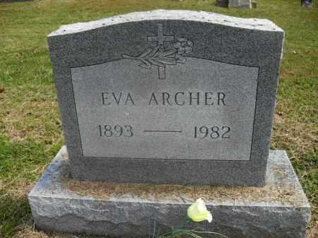 ARCHER, EVA - Meigs County, Ohio | EVA ARCHER - Ohio Gravestone Photos