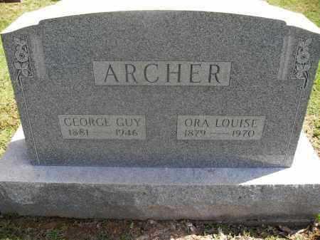 ARCHER, ORA LOUISE - Meigs County, Ohio | ORA LOUISE ARCHER - Ohio Gravestone Photos