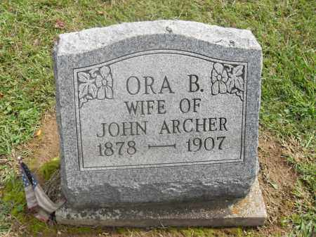 ARCHER, ORA B. - Meigs County, Ohio | ORA B. ARCHER - Ohio Gravestone Photos