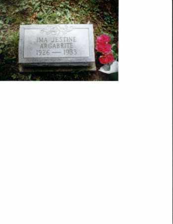 ARGABRITE, IMA JESTINE - Meigs County, Ohio | IMA JESTINE ARGABRITE - Ohio Gravestone Photos