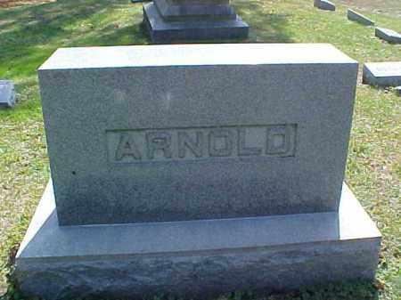 ARNOLD, MONUMENT - Meigs County, Ohio | MONUMENT ARNOLD - Ohio Gravestone Photos