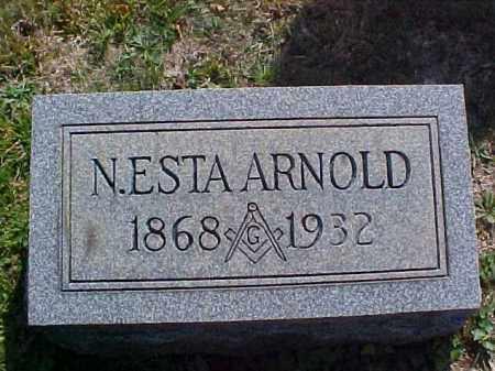 ARNOLD, N. ESTA - Meigs County, Ohio | N. ESTA ARNOLD - Ohio Gravestone Photos