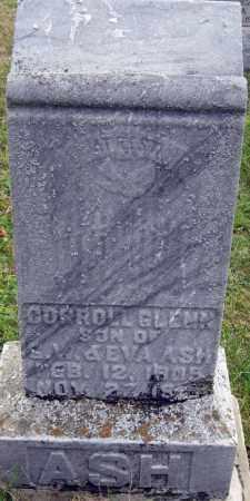 ASH, CARROLL GLENN - Meigs County, Ohio | CARROLL GLENN ASH - Ohio Gravestone Photos