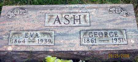 ASH, GEORGE - Meigs County, Ohio | GEORGE ASH - Ohio Gravestone Photos