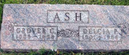 ASH, GROVER C. - Meigs County, Ohio | GROVER C. ASH - Ohio Gravestone Photos