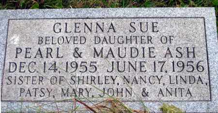 ASH, GLENNA SUE - Meigs County, Ohio | GLENNA SUE ASH - Ohio Gravestone Photos