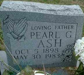 ASH, PEARL G. - Meigs County, Ohio | PEARL G. ASH - Ohio Gravestone Photos