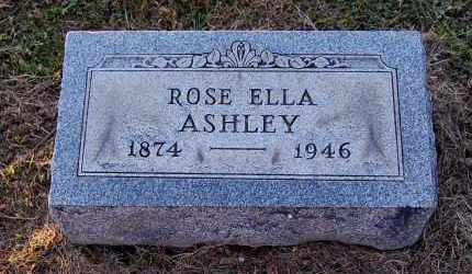 ASHLEY, ROSE ELLA - Meigs County, Ohio | ROSE ELLA ASHLEY - Ohio Gravestone Photos