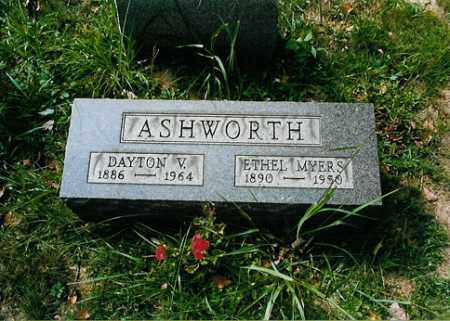 MYERS ASHWORTH, ETHEL - Meigs County, Ohio | ETHEL MYERS ASHWORTH - Ohio Gravestone Photos