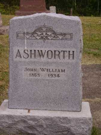 ASHWORTH, JOHN WILLIAM - Meigs County, Ohio | JOHN WILLIAM ASHWORTH - Ohio Gravestone Photos
