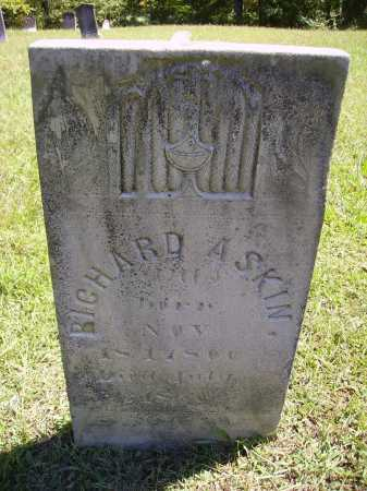 ASKIN[S], RICHARD - Meigs County, Ohio | RICHARD ASKIN[S] - Ohio Gravestone Photos