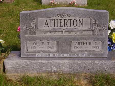 ATHERTON, OLLIE T. - Meigs County, Ohio | OLLIE T. ATHERTON - Ohio Gravestone Photos
