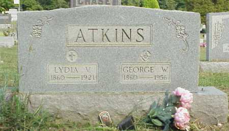 ATKINS, GEORGE W. - Meigs County, Ohio | GEORGE W. ATKINS - Ohio Gravestone Photos