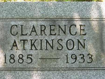 ATKINSON, CLARENCE - Meigs County, Ohio   CLARENCE ATKINSON - Ohio Gravestone Photos