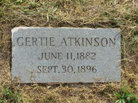 ATKINSON, GERTIE - Meigs County, Ohio | GERTIE ATKINSON - Ohio Gravestone Photos