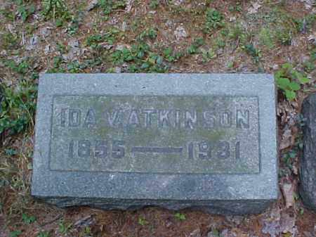 ATKINSON, IDA V. - Meigs County, Ohio | IDA V. ATKINSON - Ohio Gravestone Photos