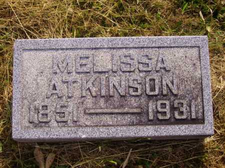 ATKINSON, EMMA MELISSA - Meigs County, Ohio | EMMA MELISSA ATKINSON - Ohio Gravestone Photos