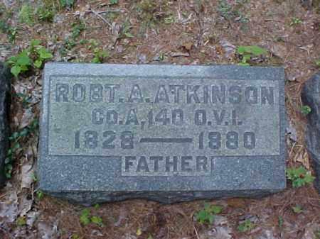 ATKINSON, ROBT. A. - Meigs County, Ohio | ROBT. A. ATKINSON - Ohio Gravestone Photos