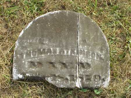 ATKINSON, THOMAS - Meigs County, Ohio | THOMAS ATKINSON - Ohio Gravestone Photos