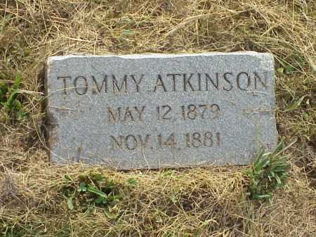 ATKINSON, TOMMY - Meigs County, Ohio | TOMMY ATKINSON - Ohio Gravestone Photos