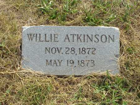 ATKINSON, WILLIE - Meigs County, Ohio | WILLIE ATKINSON - Ohio Gravestone Photos