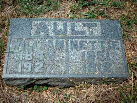 AULT, WILLIAM - Meigs County, Ohio | WILLIAM AULT - Ohio Gravestone Photos