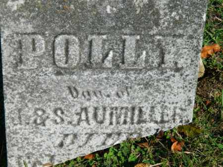 AUMILLER, POLLY - Meigs County, Ohio | POLLY AUMILLER - Ohio Gravestone Photos